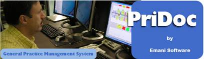 Pridoc general management system image